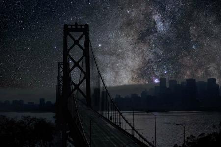 New York, falls die Stadt doch einmal schliefe  (Bild © Thierry Cohen).